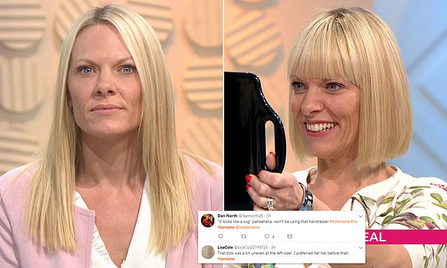 Lorraine Guest Leaves Viewers In Hysterics With Bad Haircut
