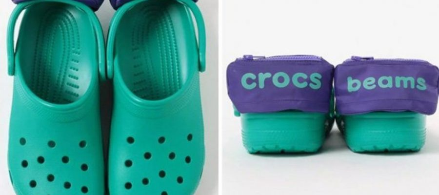 Crocs 'horrifies' after unveiling new shoes with bum bags