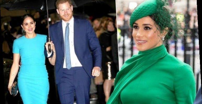 Meghan Markle slashed the value of her wardrobe - wearing
