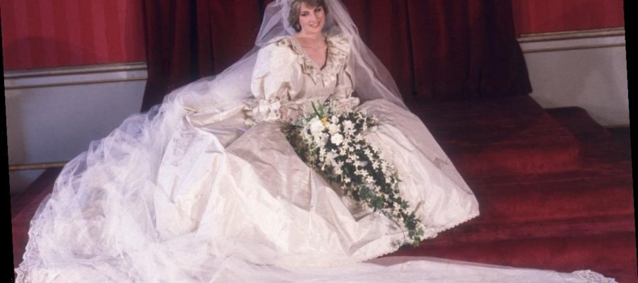This Is Why You May Never See Princess Diana S Wedding Dress